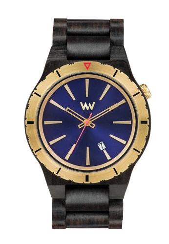WEWOOD navy Assunt MB Blue Gold Watch 46mm EC42CAC4D12ADFGS_1