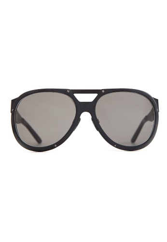 Marshall Eyewear black and grey Liam Matte Black MA266AC65OWOSG_1
