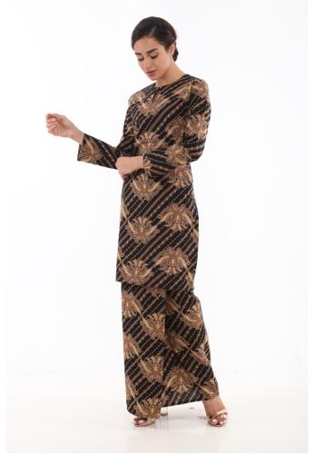 Amar Amran black Kurung Moden Batik Classic 08DFAAAD460D1FGS_1