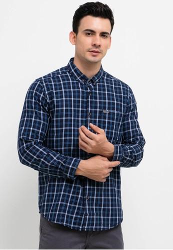 Lois Jeans blue Checked Shirts 9AE7DAA3B95480GS_1