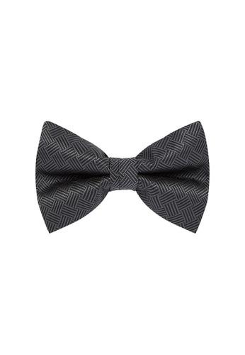 Buckle black Basket Bow Tie with Pocket Hanky ADE29AC838F584GS_1