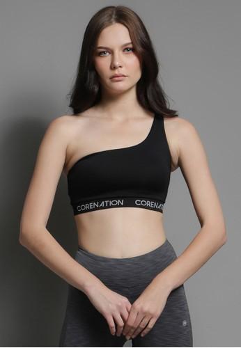 Corenation Active black Audrey Bra Reflective - Black 51908AA6C6FA32GS_1