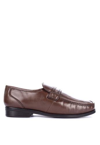FLORSHEIM brown Harvard Formal Shoes D7BCBSH3118819GS_1