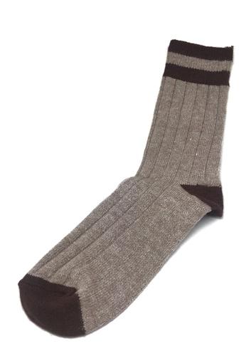 Splice Cufflinks brown Blubbery Series Reddish with Brown Socks SP744AA31GEASG_1