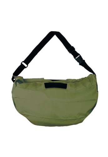 Shupatto green Shupatto Foldable 2 Way Shoulder Bag - Olive C50EEAC40B6079GS_1