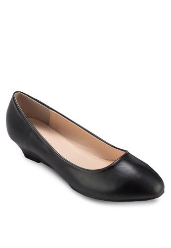 極簡楔型跟esprit 台灣官網淑女鞋, 女鞋, 厚底楔形鞋