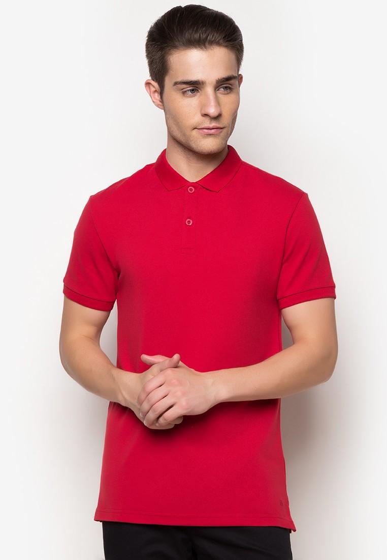 Short Sleeves M Basic Pique Polotee
