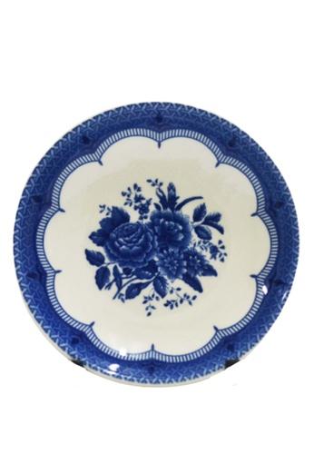 """Claytan Victoria Blue - 4""""Round Dish 6648EHLFAE76D5GS_1"""