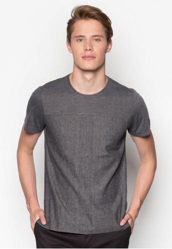 混紡布料TEE、 服飾、 T恤ZALORA混紡布料TEE最新折價