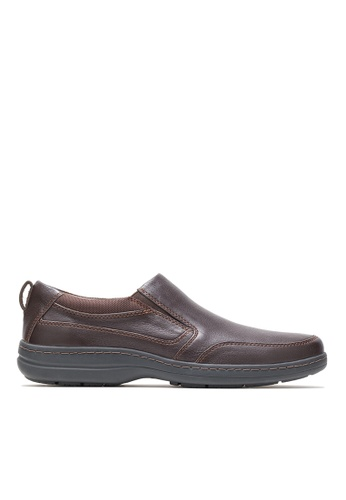 Hush Puppies brown Hush Puppies Men's Elkhound MT Slip On - Dark Brown 73114SHD17636AGS_1