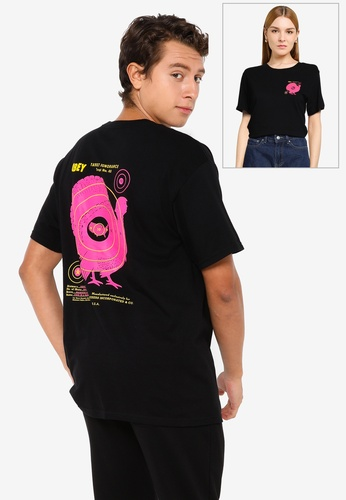 OBEY black Obey Target Ignorance T-shirt 12EB9AA53B100EGS_1