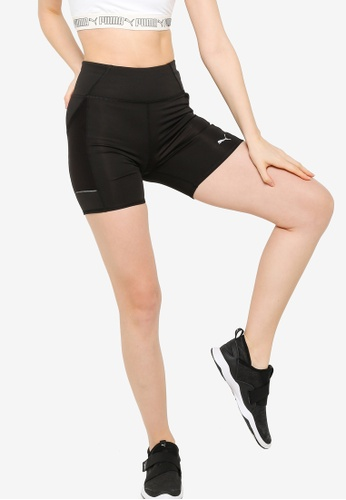 PUMA black Favourite Short Running Leggings DCEC5AA124D271GS_1