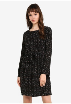 b6f884a1c5a JACQUELINE DE YONG black Piper Woven Dress 950FEAA4A81A5BGS 1