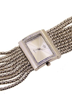 Japan Design Rhodium Plating Chain Watch