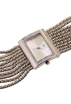 Japan Design Rhodium Plating Chain Watch