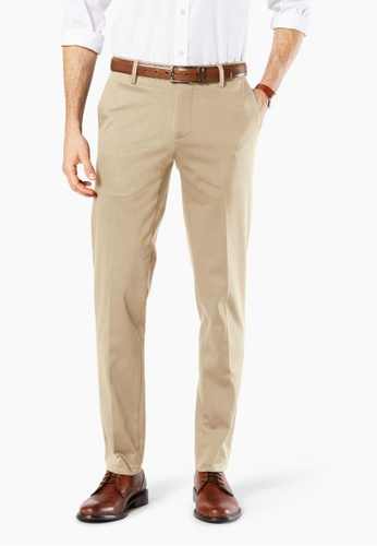 Dockers brown Dockers Ultimate Iron Free Extra Slim Pants Timberwolf 106AAAA86D05DFGS_1