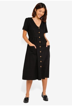48e0d92d12 Cotton On Woven Camila Button Through Midi Dress S  44.99. Sizes XXS XS S M