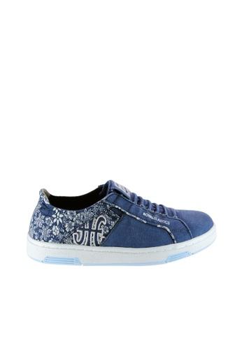 Royal Elastics 藍色 Icon Washed 休閒鞋 RO796SH09SMMTW_1