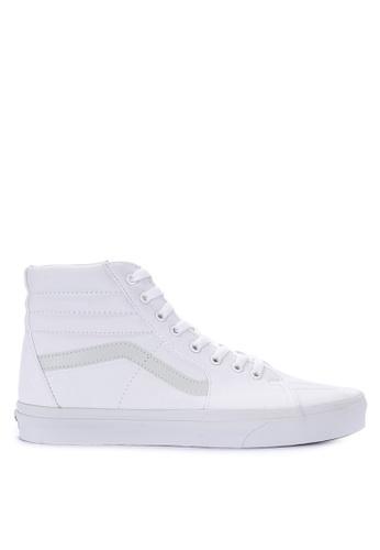 VANS white SK8-Hi Sneakers 6730ESHAE7DAE9GS_1