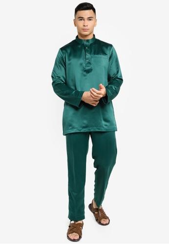REALFANTASY green BAJU MELAYU SHAH ISKANDAR 71CCEAA48EF185GS_1