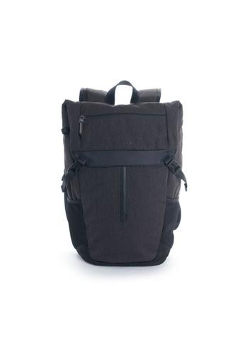 Hedgren grey Hedgren Unisex Midway Relate Folded Backpack 15.6'' Dark Iron -17.5L 4C7AEACFBCF960GS_1