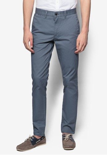 彈性esprit台灣outlet休閒長褲, 服飾, 窄管褲