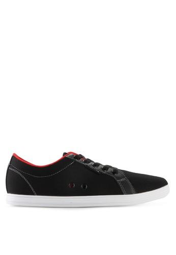 Homypro black Coco Low Cut Sneakers HO843SH37MSSID_1