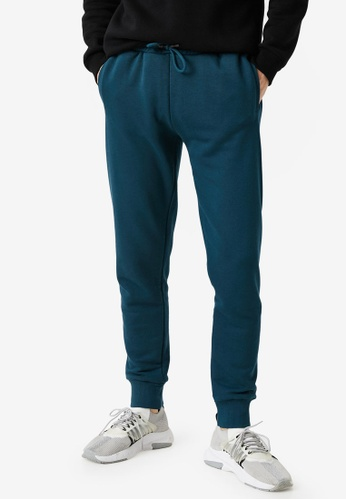 KOTON blue Drawstrings Woman Sweatpants 2C685AA8E74151GS_1