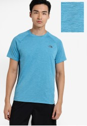 The North Face blue Ambition Short Sleeve Top TH274AA21WLAMY_1