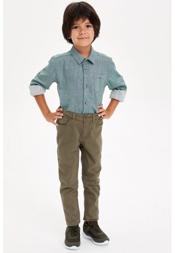 DeFacto green Boy Trousers BA987KAA9C12B4GS_1
