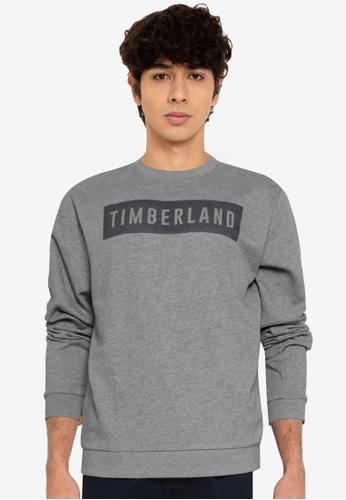 Timberland grey Oyster River Sweatshirt 56B35AA7A2976BGS_1