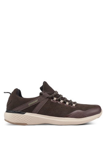 Power brown Connect Discover Walking Shoes 8ED74SHC794B13GS_1
