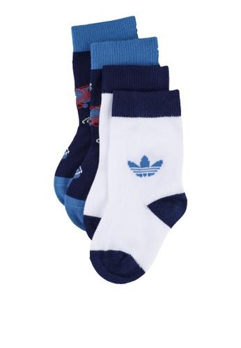 ADIDAS blue trefoil universe crew socks 00138KCC750117GS_1