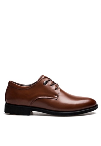 Twenty Eight Shoes 褐色 基本商務鞋 VSM-F36578 4F7E2SH589EC78GS_1
