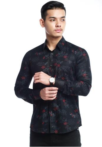 UA BOUTIQUE black Long Sleeve Shirt SLB02-012 (Black) 8A1A0AA9280B0BGS_1