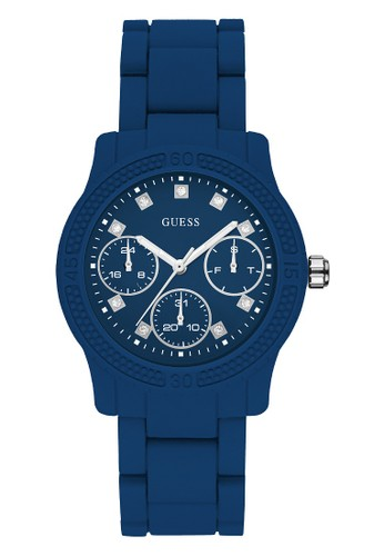 Guess Watch navy Guess Jam Tangan Wanita Analog W0944L5 FA842AC1C22955GS_1