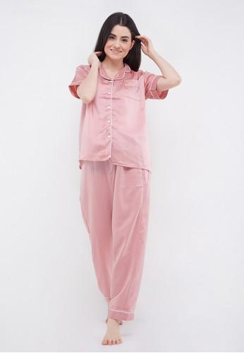madeleine pink Madeleine's Pink Silk Long A7879AA8D29B08GS_1