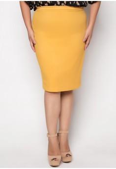 Rhian Plus Size Short Skirt