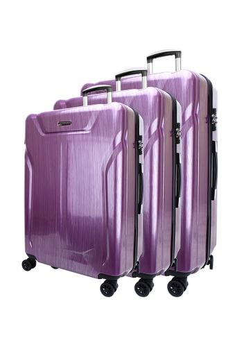 Playboy purple PLAYBOY 20 Inch + 24 Inch + 28 Inch Luggage EE7CDACF650148GS_1
