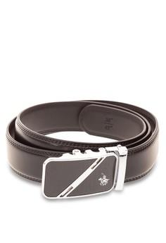 Men's Genuine Leather Autolock Belt