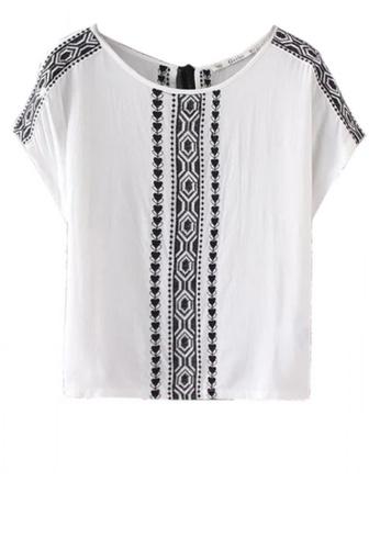 Sunnydaysweety white Folk Style Embroidered Top C070637 6541CAA2F0791CGS_1