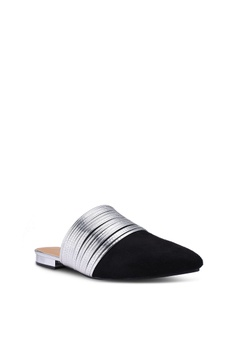 6144b2ae5f2 20% OFF Something Borrowed Pointed Slip On Flats with Metallic Detail Php  999.00 NOW Php 799.00 Sizes 36 · Something Borrowed brown Fringe Loafers ...