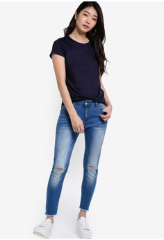 Buy Women's JEANS Online | ZALORA Singapore