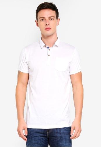 Brave Soul 白色 Basic POLO衫 AA44DAA569EF01GS_1