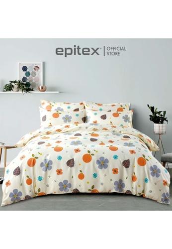 Epitex multi Epitex Silkysoft 900TC SP9052-6 Fitted Sheet Set (w/o quilt cover) - Bedsheet - Bedding Set A40E7HLD0E47E8GS_1