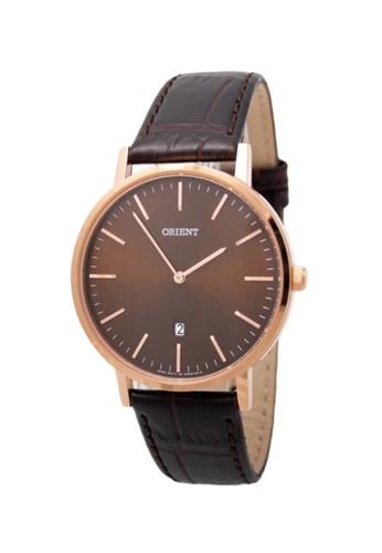 Orient brown Orient Men Watch Classic ORFGW05001T B8AC1ACE75677EGS_1
