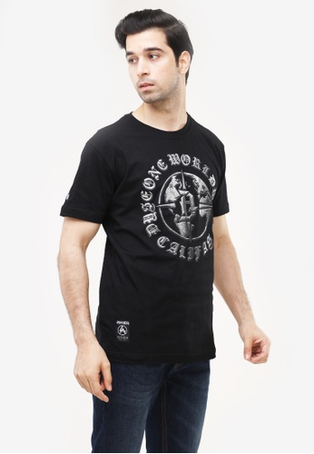 Dyse One black Round Neck Regular Fit F83D7AAE878FB7GS_1