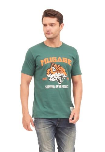 MUGABE green MUGABE mens t-shirt el'tigre green 3CE66AA90C13B4GS_1