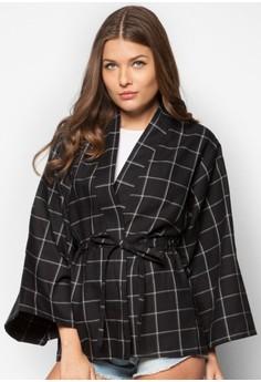 Ruff Kimono Flannel
