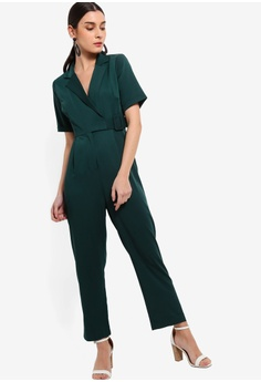 d02125a0ca9 20% OFF ZALORA Tie Details Jumpsuit S  44.90 NOW S  35.90 Sizes XS S M L XL
